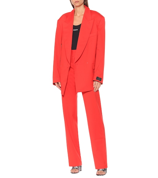 Vetements - Blazer aus Wolle - mytheresa.com