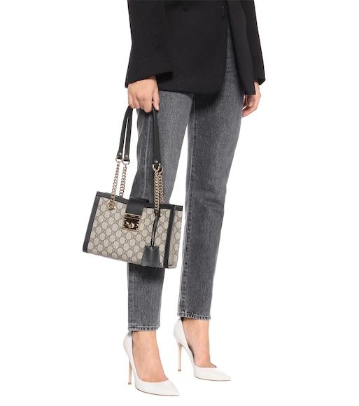 b96c5fdf8573 Gucci - Padlock GG Small shoulder bag - mytheresa.com