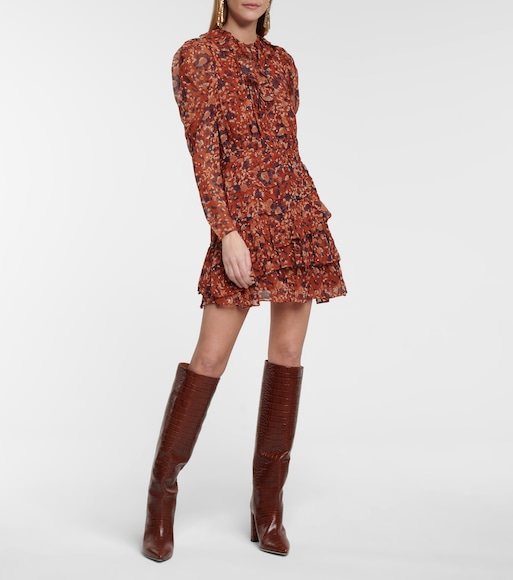 Ulla Johnson - Cecily floral silk-blend minidress - mytheresa.com