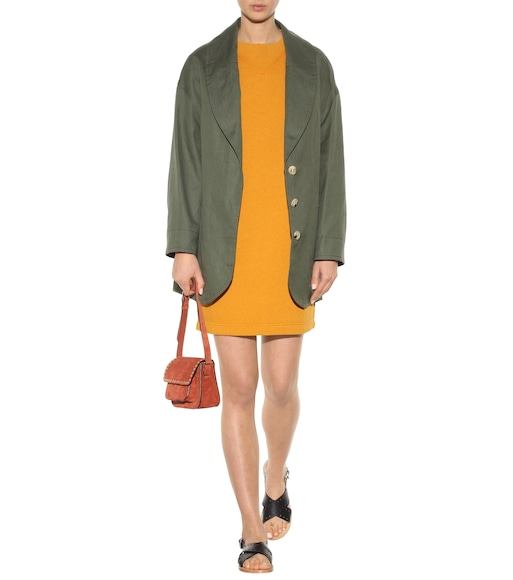 Isabel Marant, Étoile - Bryony cotton-blend sweatshirt dress - mytheresa.com
