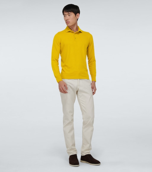 Loro Piana - Superlight baby cashmere polo sweater - mytheresa.com