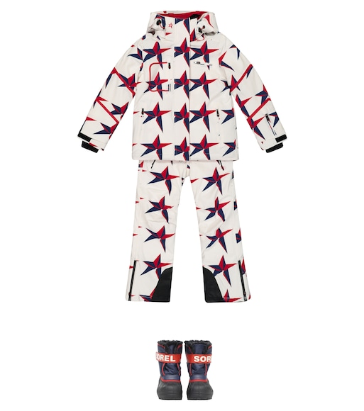 Perfect Moment Kids - Qanuk Pro III printed down ski jacket - mytheresa.com