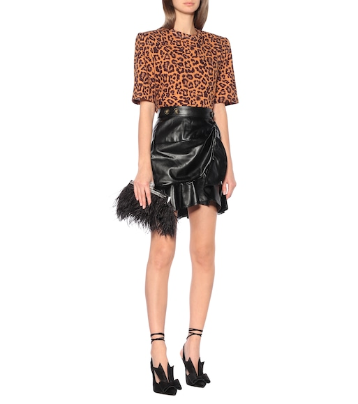 The Attico - Bella leopard-print cotton T-shirt - mytheresa.com