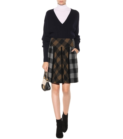 Etro - Plaid wool skirt - mytheresa.com