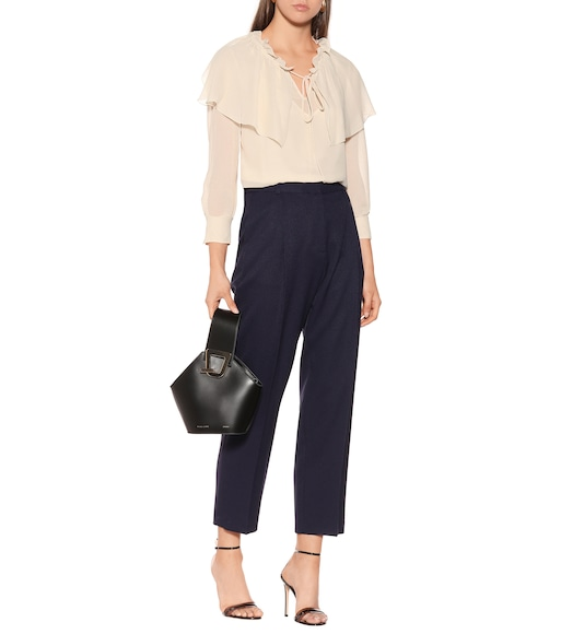 See By Chloé - Mid-Rise-Hose mit weitem Schnitt - mytheresa.com