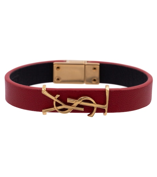 Saint Laurent - Opyum leather bracelet - mytheresa.com