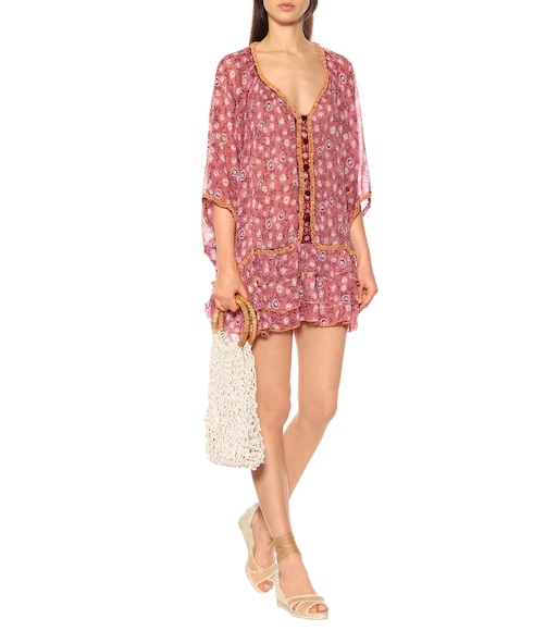 Poupette St Barth - Bobo printed cotton minidress - mytheresa.com