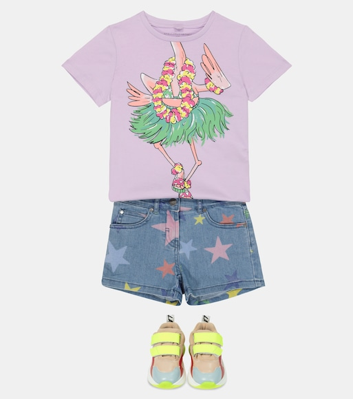 Stella McCartney Kids - Printed cotton T-shirt - mytheresa.com