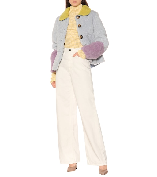 Saks Potts - Lucia Baby shearling coat - mytheresa.com