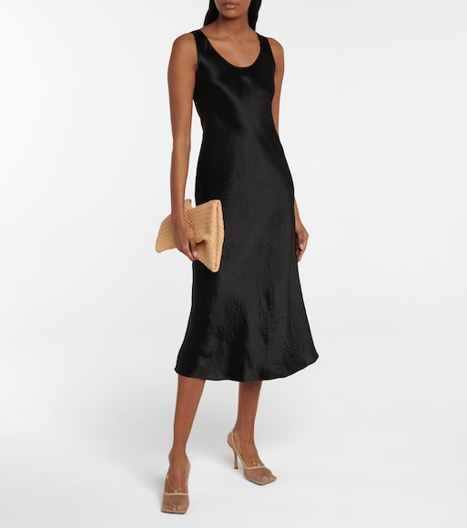 Max Mara - Leisure Talete satin midi dress - mytheresa.com