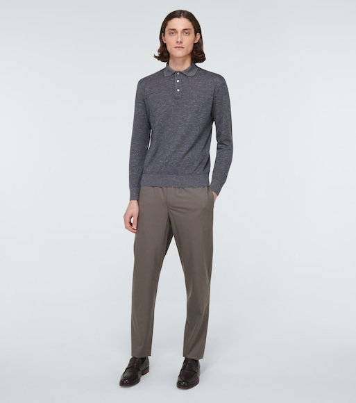 Loro Piana - Leisure Flat wool pants - mytheresa.com