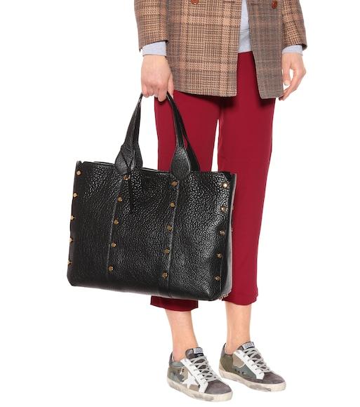 0392f72d83bdb Jimmy Choo - حقيبة للكتف من الجلد المنقوش Locket Shopper - mytheresa.com