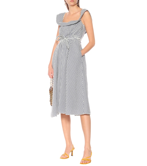 Brock Collection - Patti gingham wool-blend dress - mytheresa.com