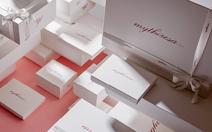 mytheresa.com boxes - packaged with love, just for you